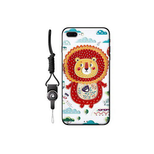 Relievo Cute Cartoon Mobile Shell for iPhone 7 Plus
