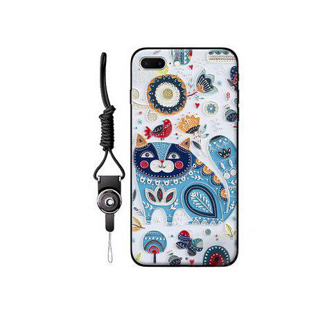 Cute Cartoon Pattern Mobile Shell for iPhone 7 Plus