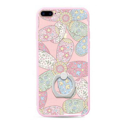 Buy COLORFUL Colorful Flowers Style Pattern Mobile Cover for iPhone 7 Plus for $10.30 in GearBest store