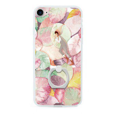 Colorful Leaves Painting Pattern Mobile Cover for iPhone 7