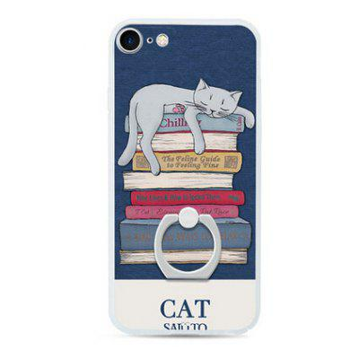 Cat Style Ring Holder Protector Case for iPhone 7