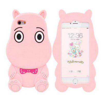 3D Cartoon Cute Hippo Phone Case for iPhone 6 Plus / 6S Plus