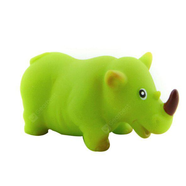 Summer Water Squeeze Toys of Rhino Pattern