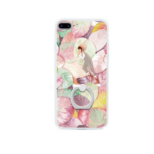 Colorful Leaves Painting Pattern Mobile Cover for iPhone 7 Plus