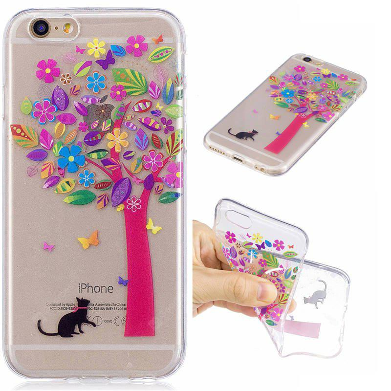 Transparent Cover Case for iPhone 6S / 6