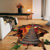 Creative DIY 3D Removable Flame / Chain Bridge Sticker mural - COLORé
