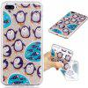 Penguin Style TPU Soft Protective Case for iPhone 7 Plus - COLORMIX