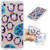 Penguin Style TPU Soft Protective Case for iPhone 7 - COLORMIX