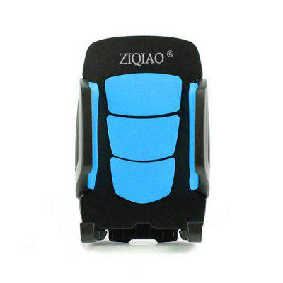ZIQIAO CZZJ - A22 Universal Car Phone Bracket HolderCar Phone Holder<br>ZIQIAO CZZJ - A22 Universal Car Phone Bracket Holder<br><br>Apply to: Apple iPhone,HTC,SAMSUNG<br>Brand: ZIQIAO<br>Color: Blue<br>Material: ABS<br>Model: CZZJ - A22<br>Mounting Location: Air Vent<br>Mounting Type: Clip-in<br>Package Contents: 1 x Mount<br>Package size (L x W x H): 12.00 x 9.00 x 6.00 cm / 4.72 x 3.54 x 2.36 inches<br>Package weight: 0.1200 kg<br>Product size (L x W x H): 10.00 x 7.00 x 5.00 cm / 3.94 x 2.76 x 1.97 inches<br>Product weight: 0.0920 kg<br>Type: Mount