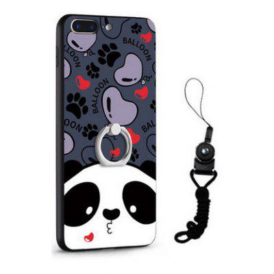 Relief Cartoon Panda Style Mobile Cover for iPhone 7 Plus