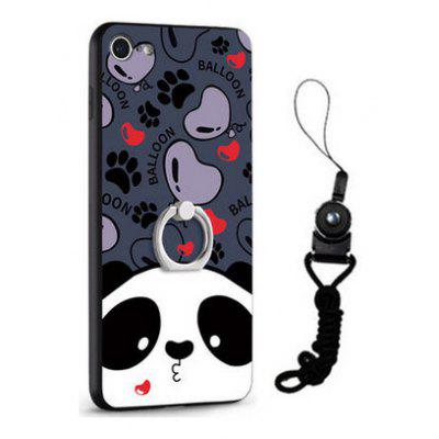 Relief Cartoon Panda Style Mobile Cover for iPhone 7