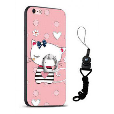 Relief Cute Cat Style Mobile Cover for iPhone 6 / 6S