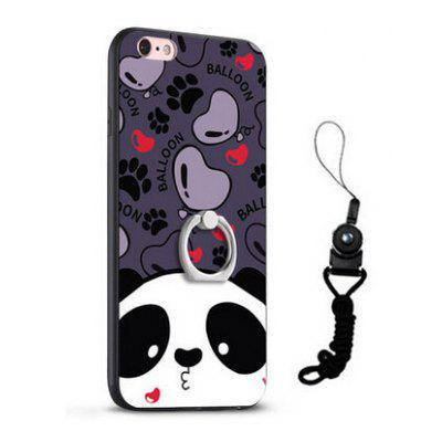 Relief Cartoon Panda Style Mobile Cover für iPhone 6 / 6S