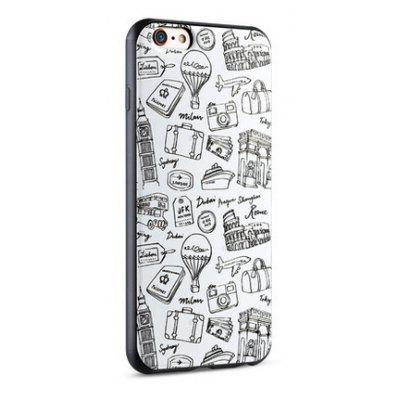 Cartoon Pattern Silicone Phone Case for iPhone 6 Plus / 6S Plus