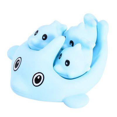 4pcs Squeeze Squeak Swimming Bath Toys of Blue DolphinPretend Play<br>4pcs Squeeze Squeak Swimming Bath Toys of Blue Dolphin<br><br>Age: 0~14 Years<br>Applicable gender: Unisex<br>Design Style: Animal<br>Features: Others<br>Material: Vinyl<br>Package Contents: 4 x Dolphin Toy<br>Package size (L x W x H): 12.00 x 11.00 x 11.00 cm / 4.72 x 4.33 x 4.33 inches<br>Package weight: 0.2400 kg<br>Product size (L x W x H): 11.00 x 10.00 x 10.00 cm / 4.33 x 3.94 x 3.94 inches<br>Product weight: 0.2000 kg<br>Small Parts : No<br>Type: Water Toys<br>Washing: Yes
