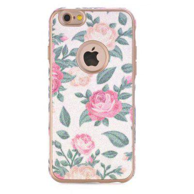 Rose Theme TPU Material Telefon Fall für iPhone 7