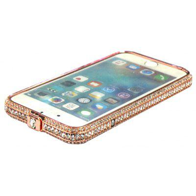 Crystal Frame Protective Phone Case for iPhone 6 Plus / 6S Plus