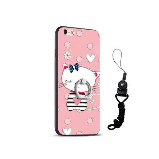 Relief Cute Cat Style Mobile Cover für iPhone 6 / 6S