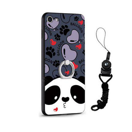 Relief Cartoon Panda Style Mobile Cover pour iPhone 7