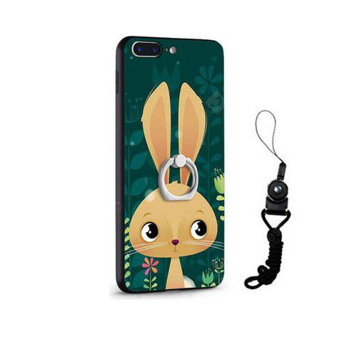 Relief Cartoon Rabbit Style Housse mobile pour iPhone 7 Plus