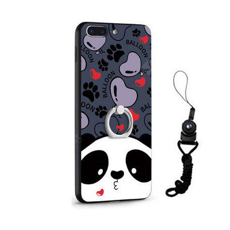 Relief Cartoon Panda Style Housse mobile pour iPhone 7 Plus