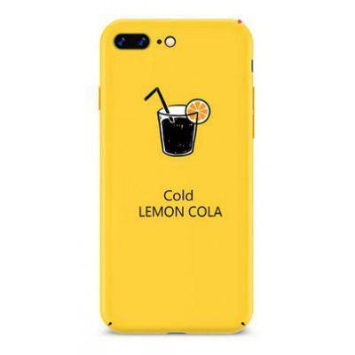 Cold Drinking Theme Mobile Protective Shell for iPhone 7 Plus