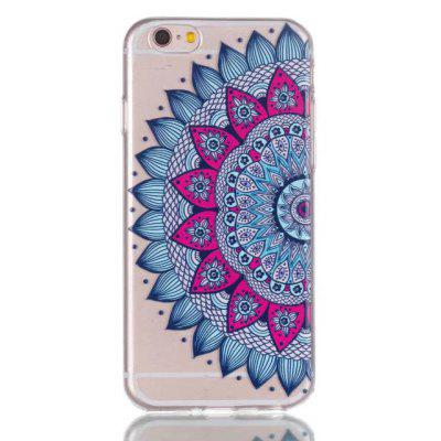 Soft TPU Mandragora Painted Pattern Back Cover for iPhone 6 Plus / 6S Plus