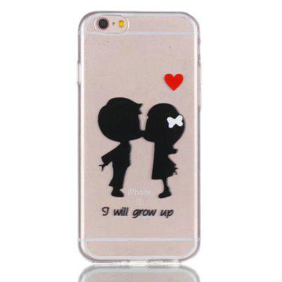 Soft TPU Cartoon Children Pattern Back Cover for iPhone 6 Plus / 6S Plus
