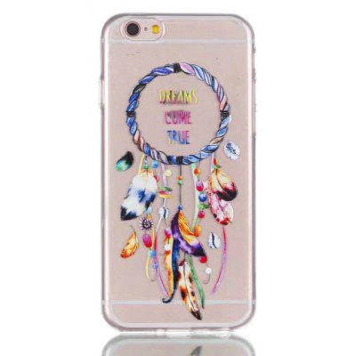 Soft TPU Dream Catcher Theme Painted Back Cover for iPhone 6 Plus / 6S Plus