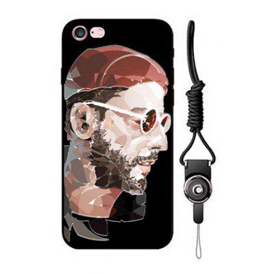 Relievo Bearded Man Image Phone Case for iPhone 6 / 6S