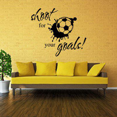 Creative Football Wall Sticker Wallpaper