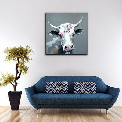 YHHP Colorful Cow Head Head Canvas Oil PaintingOil Paintings<br>YHHP Colorful Cow Head Head Canvas Oil Painting<br><br>Brand: YHHP<br>Craft: Oil Painting<br>Form: One Panel<br>Material: Canvas<br>Package size (L x W x H): 72.00 x 4.00 x 4.00 cm / 28.35 x 1.57 x 1.57 inches<br>Package weight: 0.2500 kg<br>Painting: Without Inner Frame<br>Product size (L x W x H): 60.00 x 60.00 x 1.00 cm / 23.62 x 23.62 x 0.39 inches<br>Product weight: 0.1500 kg<br>Shape: Square<br>Style: Animal<br>Subjects: Animal<br>Suitable Space: Bedroom,Dining Room,Hotel,Living Room