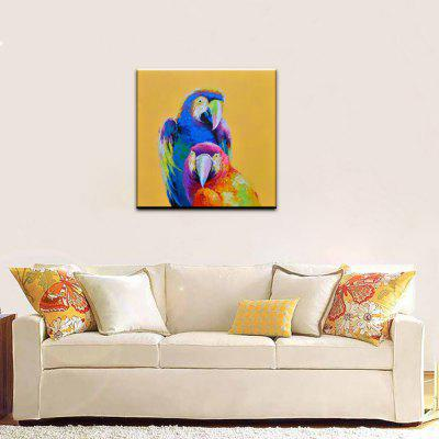 YHHP Animal Parrot Head Canvas Oil PaintingOil Paintings<br>YHHP Animal Parrot Head Canvas Oil Painting<br><br>Brand: YHHP<br>Craft: Oil Painting<br>Form: One Panel<br>Material: Canvas<br>Package Contents: 1 x Painting<br>Package size (L x W x H): 72.00 x 4.00 x 4.00 cm / 28.35 x 1.57 x 1.57 inches<br>Package weight: 0.2500 kg<br>Painting: Without Inner Frame<br>Product size (L x W x H): 60.00 x 60.00 x 1.00 cm / 23.62 x 23.62 x 0.39 inches<br>Product weight: 0.1200 kg<br>Shape: Square<br>Style: Modern<br>Subjects: Animal<br>Suitable Space: Bedroom,Dining Room,Living Room
