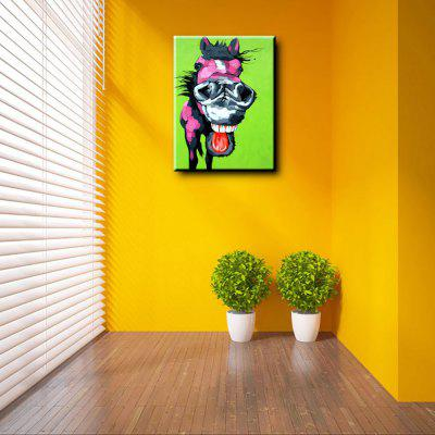 YHHP Colorful Cartoon Donkey Head Canvas Oil PaintingOil Paintings<br>YHHP Colorful Cartoon Donkey Head Canvas Oil Painting<br><br>Brand: YHHP<br>Craft: Oil Painting<br>Form: One Panel<br>Material: Canvas<br>Package size (L x W x H): 62.00 x 3.00 x 3.00 cm / 24.41 x 1.18 x 1.18 inches<br>Package weight: 0.2500 kg<br>Painting: Without Inner Frame<br>Product size (L x W x H): 60.00 x 50.00 x 1.00 cm / 23.62 x 19.69 x 0.39 inches<br>Product weight: 0.1200 kg<br>Shape: Horizontal<br>Style: Animal<br>Subjects: Animal<br>Suitable Space: Bedroom,Dining Room,Hotel,Living Room