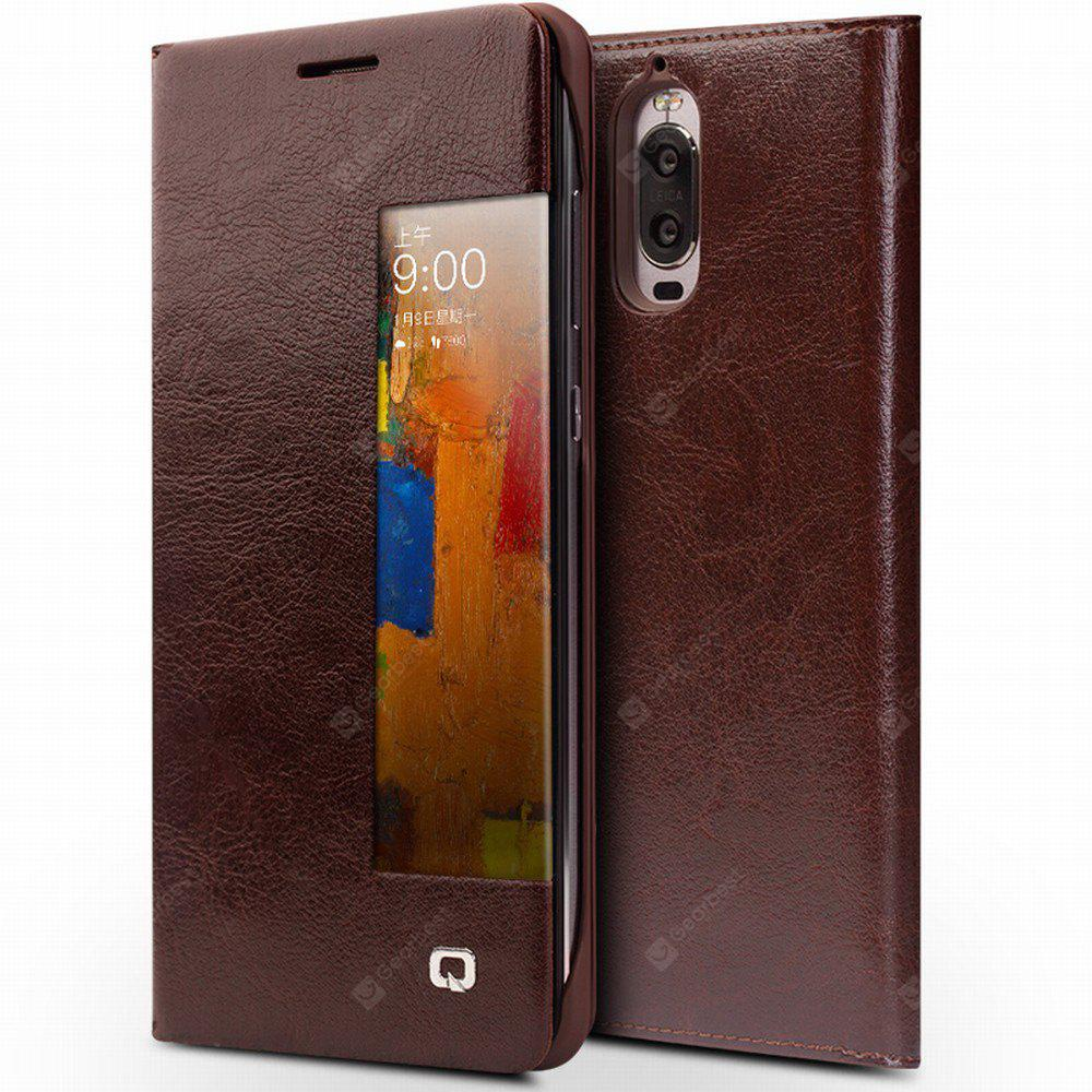 QIALINO Leather Phone Cover for HUAWEI Mate 9 Pro