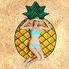 59 inch Women Beach Towel with Fruit Pattern - YELLOW