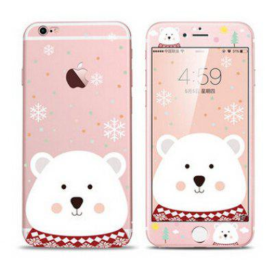 Cute Bear Full Cover Mobile Phone Case for iPhone 6 / 6S