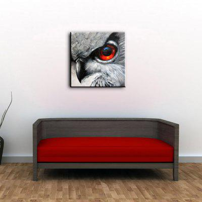 YHHP Eagle Eye Head Canvas Oil PaintingOil Paintings<br>YHHP Eagle Eye Head Canvas Oil Painting<br><br>Brand: YHHP<br>Craft: Oil Painting<br>Form: One Panel<br>Material: Canvas<br>Package Contents: 1 x Painting<br>Package size (L x W x H): 72.00 x 4.00 x 4.00 cm / 28.35 x 1.57 x 1.57 inches<br>Package weight: 0.2500 kg<br>Painting: Without Inner Frame<br>Product size (L x W x H): 60.00 x 60.00 x 1.00 cm / 23.62 x 23.62 x 0.39 inches<br>Product weight: 0.1500 kg<br>Shape: Square<br>Style: Modern<br>Subjects: Animal<br>Suitable Space: Bedroom,Dining Room,Living Room