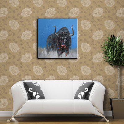 YHHP Black Bull Head Canvas Oil PaintingOil Paintings<br>YHHP Black Bull Head Canvas Oil Painting<br><br>Brand: YHHP<br>Craft: Oil Painting<br>Form: One Panel<br>Material: Canvas<br>Package Contents: 1 x Painting<br>Package size (L x W x H): 72.00 x 4.00 x 4.00 cm / 28.35 x 1.57 x 1.57 inches<br>Package weight: 0.2500 kg<br>Painting: Without Inner Frame<br>Product size (L x W x H): 60.00 x 60.00 x 1.00 cm / 23.62 x 23.62 x 0.39 inches<br>Product weight: 0.1500 kg<br>Shape: Square<br>Style: Modern<br>Subjects: Animal<br>Suitable Space: Bedroom,Dining Room,Hotel,Living Room
