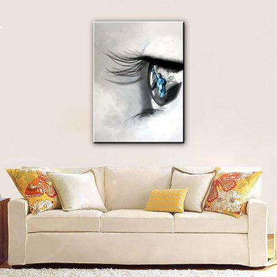 YHHP Hand Painted Eye Canvas Oil PaintingOil Paintings<br>YHHP Hand Painted Eye Canvas Oil Painting<br><br>Brand: YHHP<br>Craft: Oil Painting<br>Form: One Panel<br>Material: Canvas<br>Package Contents: 1 x Painting<br>Package size (L x W x H): 72.00 x 5.00 x 5.00 cm / 28.35 x 1.97 x 1.97 inches<br>Package weight: 0.3200 kg<br>Painting: Without Inner Frame<br>Product size (L x W x H): 90.00 x 60.00 x 1.00 cm / 35.43 x 23.62 x 0.39 inches<br>Product weight: 0.2200 kg<br>Shape: Vertical<br>Style: Abstract<br>Subjects: Abstract<br>Suitable Space: Bedroom,Living Room