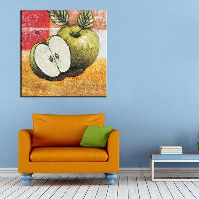 Mintura Hand Painted Green Apple Canvas Oil PaintingOil Paintings<br>Mintura Hand Painted Green Apple Canvas Oil Painting<br><br>Brand: Mintura<br>Craft: Oil Painting<br>Form: One Panel<br>Material: Canvas<br>Package Contents: 1 x Painting<br>Package size (L x W x H): 72.00 x 6.00 x 6.00 cm / 28.35 x 2.36 x 2.36 inches<br>Package weight: 0.4000 kg<br>Painting: Without Inner Frame<br>Product size (L x W x H): 60.00 x 60.00 x 0.10 cm / 23.62 x 23.62 x 0.04 inches<br>Product weight: 0.3000 kg<br>Shape: Square<br>Style: Fruit<br>Subjects: Food<br>Suitable Space: Bedroom,Hallway,Kids Room,Living Room,Office