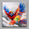 YHHP Skiing Parrot Canvas Oil Painting Modern Art - COLORMIX