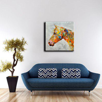 YHHP Abstract Colorful Horse Head Canvas Oil PaintingOil Paintings<br>YHHP Abstract Colorful Horse Head Canvas Oil Painting<br><br>Brand: YHHP<br>Craft: Oil Painting<br>Form: One Panel<br>Material: Canvas<br>Package size (L x W x H): 72.00 x 4.00 x 4.00 cm / 28.35 x 1.57 x 1.57 inches<br>Package weight: 0.2500 kg<br>Painting: Without Inner Frame<br>Product size (L x W x H): 60.00 x 60.00 x 1.00 cm / 23.62 x 23.62 x 0.39 inches<br>Product weight: 0.1500 kg<br>Shape: Square<br>Style: Animal<br>Subjects: Animal<br>Suitable Space: Bedroom,Hotel,Living Room