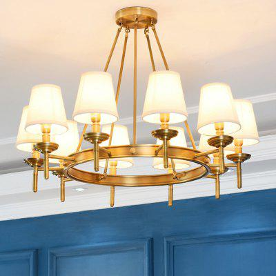ZUOGE DJBCY014 American Full-copper Chandelier Light 220V