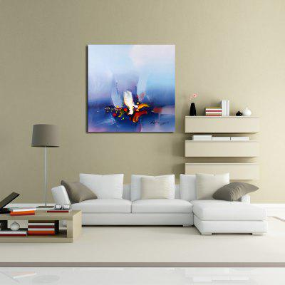 Blue Abstract Oil Painting Modern Canvas MaterialOil Paintings<br>Blue Abstract Oil Painting Modern Canvas Material<br><br>Craft: Oil Painting<br>Form: One Panel<br>Material: Canvas<br>Package Contents: 1 x Painting<br>Package size (L x W x H): 62.00 x 4.00 x 4.00 cm / 24.41 x 1.57 x 1.57 inches<br>Package weight: 0.1500 kg<br>Painting: Without Inner Frame<br>Product size (L x W x H): 60.00 x 60.00 x 1.00 cm / 23.62 x 23.62 x 0.39 inches<br>Product weight: 0.1000 kg<br>Shape: Square<br>Style: Abstract<br>Subjects: Abstract<br>Suitable Space: Bedroom,Dining Room,Hotel,Living Room