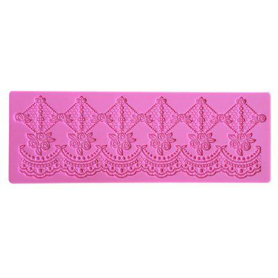 Flower Chain Lace Mat Wedding Cake Edge Decoration Mold