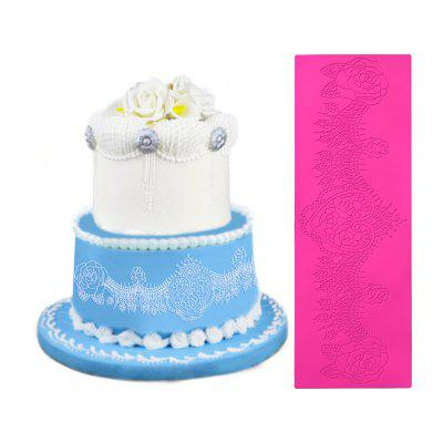 Silicone Wedding Cake Edge Decorative MoldCake Molds<br>Silicone Wedding Cake Edge Decorative Mold<br><br> Product weight: 0.1050 kg<br>Material: Silicone<br>Package Contents: 1 x Mold<br>Package size (L x W x H): 12.00 x 15.00 x 3.00 cm / 4.72 x 5.91 x 1.18 inches<br>Package weight: 0.1550 kg<br>Product size (L x W x H): 10.00 x 14.00 x 2.00 cm / 3.94 x 5.51 x 0.79 inches<br>Type: Other Kitchen Accessories
