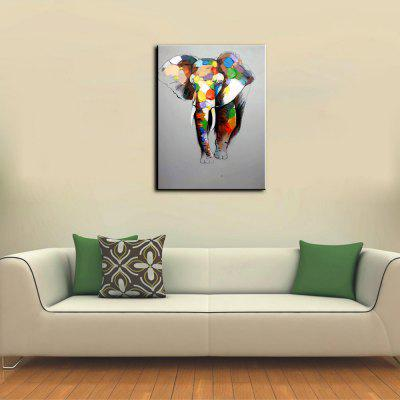 YHHP Elephant Canvas Unframed Oil PaintingOil Paintings<br>YHHP Elephant Canvas Unframed Oil Painting<br><br>Brand: YHHP<br>Craft: Oil Painting<br>Form: One Panel<br>Material: Canvas<br>Package Contents: 1 x Painting<br>Package size (L x W x H): 62.00 x 4.00 x 4.00 cm / 24.41 x 1.57 x 1.57 inches<br>Package weight: 0.2500 kg<br>Painting: Without Inner Frame<br>Product size (L x W x H): 60.00 x 50.00 x 1.00 cm / 23.62 x 19.69 x 0.39 inches<br>Product weight: 0.1500 kg<br>Shape: Horizontal<br>Style: Animal<br>Subjects: Animal<br>Suitable Space: Bedroom,Dining Room,Hotel,Living Room
