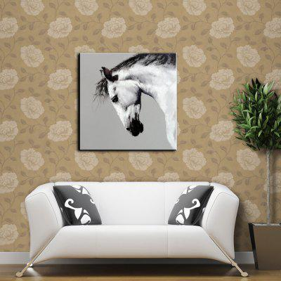 YHHP Hand Painted Horse Canvas Unframed Oil PaintingOil Paintings<br>YHHP Hand Painted Horse Canvas Unframed Oil Painting<br><br>Brand: YHHP<br>Craft: Oil Painting<br>Form: One Panel<br>Material: Canvas<br>Package Contents: 1 x Painting<br>Package size (L x W x H): 72.00 x 4.00 x 4.00 cm / 28.35 x 1.57 x 1.57 inches<br>Package weight: 0.2200 kg<br>Painting: Without Inner Frame<br>Product size (L x W x H): 60.00 x 60.00 x 1.00 cm / 23.62 x 23.62 x 0.39 inches<br>Product weight: 0.1500 kg<br>Shape: Square<br>Style: Animal<br>Subjects: Animal<br>Suitable Space: Living Room