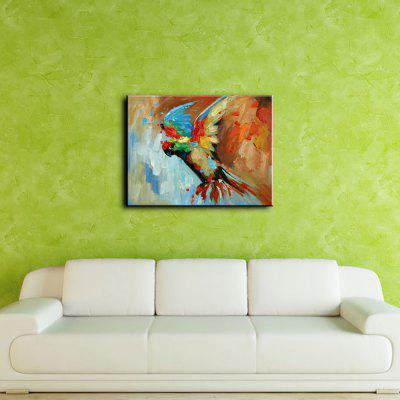 YHHP Abstract Colorful Flying Parrot Canvas Oil PaintingOil Paintings<br>YHHP Abstract Colorful Flying Parrot Canvas Oil Painting<br><br>Brand: YHHP<br>Craft: Oil Painting<br>Form: One Panel<br>Material: Canvas<br>Package Contents: 1 x Painting<br>Package size (L x W x H): 62.00 x 4.00 x 4.00 cm / 24.41 x 1.57 x 1.57 inches<br>Package weight: 0.2500 kg<br>Painting: Without Inner Frame<br>Product size (L x W x H): 60.00 x 50.00 x 1.00 cm / 23.62 x 19.69 x 0.39 inches<br>Product weight: 0.1500 kg<br>Shape: Horizontal<br>Style: Modern<br>Subjects: Animal<br>Suitable Space: Bedroom,Dining Room,Hotel,Living Room